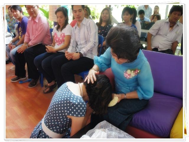 กิจกรรมวันแม่แห่งชาติ ปีการศึกษา 2557